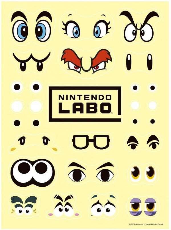 Switch外设LABO个性化套件正式开启预购