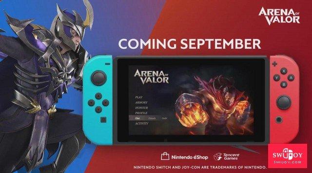 《王者荣耀》Switch版将于下月发布 画面更出色还免费下载