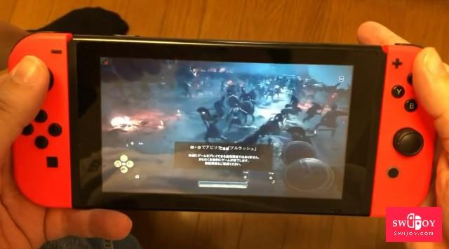 Switch云游戏《刺客信条:奥德赛》对网速要求不低