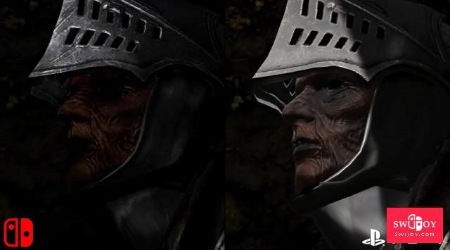 Switch版《黑暗之魂:重制版》DF专业画面分析