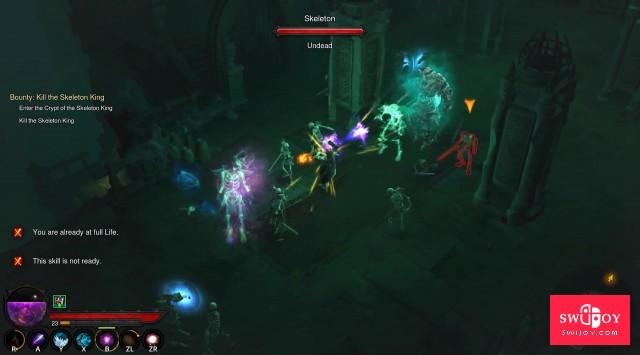 DF评测Switch《暗黑破坏神3》:最出色的移动版