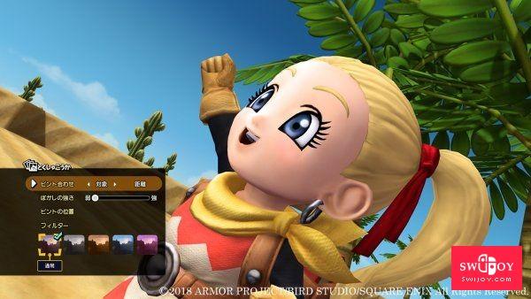 Switch《勇者斗恶龙:建造者2》最新截图曝光 包含照相模式