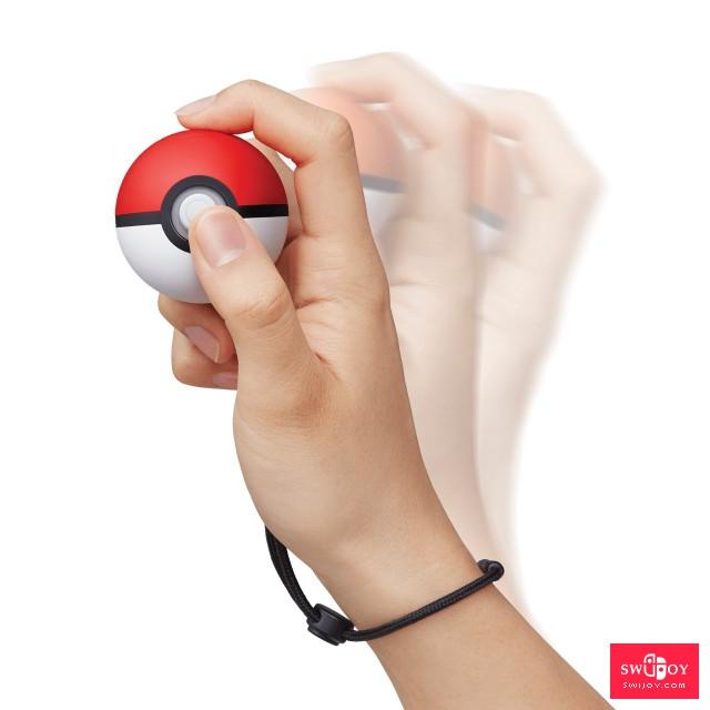 Switch《精灵宝可梦Let's Go》的配件精灵球Plus详细介绍