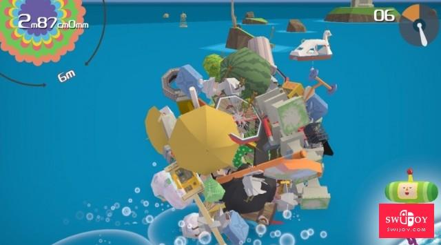 PS2创意经典《块魂:重演》Switch版正式发售