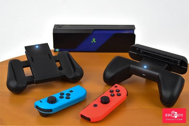 Powercast将推Switch真正无线充电的Joy-Con握把