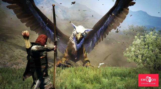 Switch《龙之信条:黑暗觉者》游戏截图公布 效果还不错