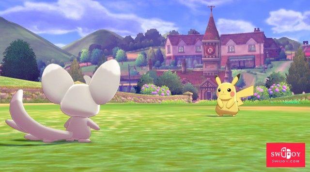 第八世代正统续作Switch《精灵宝可梦:剑/盾》首批游戏截图曝光