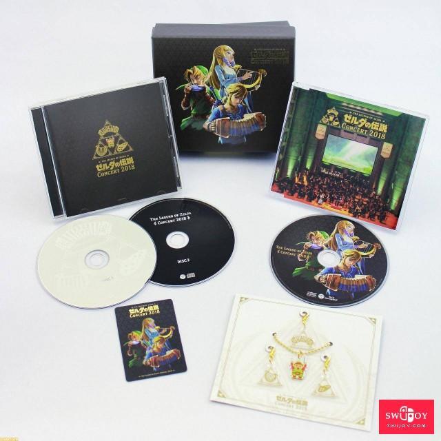 任天堂将推出《塞尔达传说》音乐会2018专辑CD