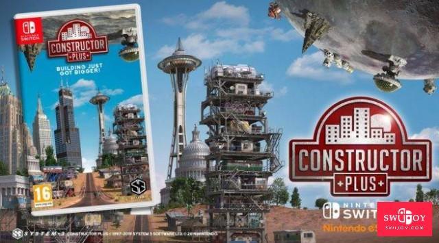 经典模拟游戏Switch《建造者Plus》今日正式发售