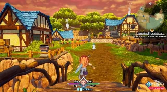 E3树屋公布Switch《圣剑传说3:重制版》超长试玩视频