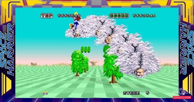 世嘉传奇经典Switch版《太空哈利》本月27日发售