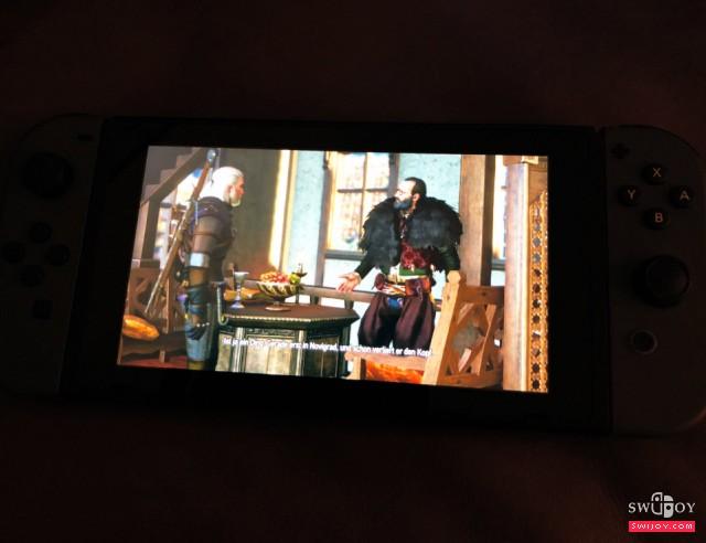 Switch《巫师3》实机截图曝光