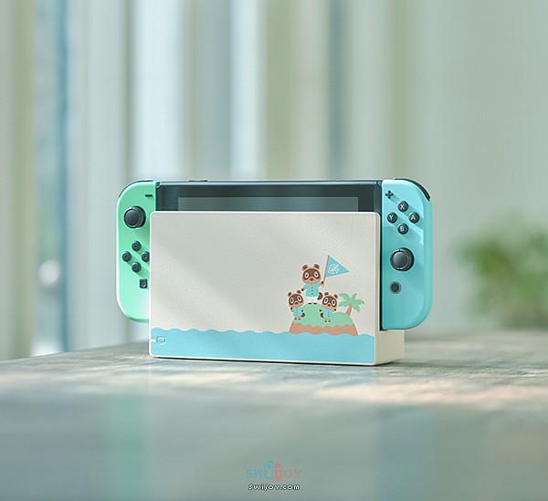 Switch《动物之森》主题限定主机公布 游戏可提前下载