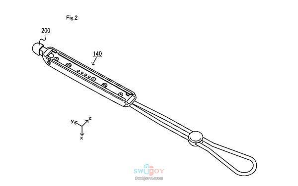 Switch可与Joy-Con手柄合体的触碰笔新专利曝光