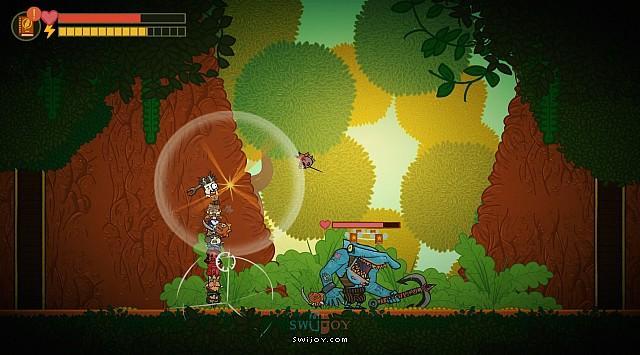 Switch类银河城动作游戏《封书冒险队》将于3月12日发售
