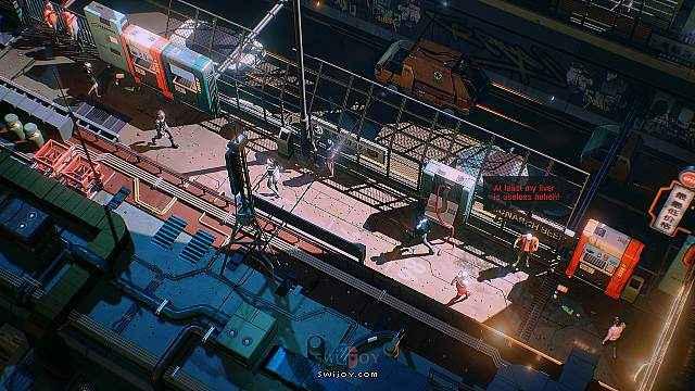 Switch赛博朋克俯视角动作射击游戏《堕灭暴徒》即将发售