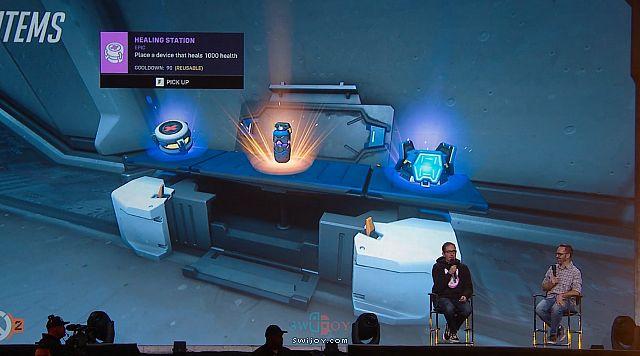《守望先锋2》人物设定及游戏画面曝光 将发售Switch版