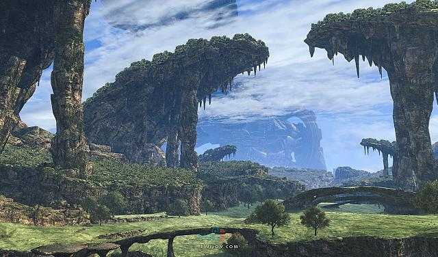 Switch《异度神剑:决定版》高清化世界截图曝光