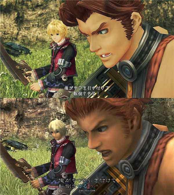 Switch《异度神剑:终极版》与原版人物建模对比
