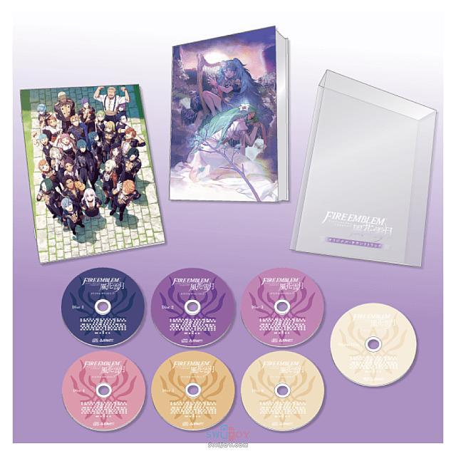 Switch《火焰纹章:风花雪月》原声音乐集将于明年2月发售