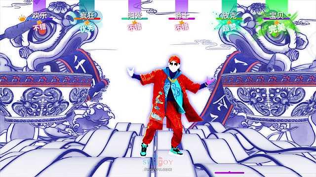 国行Switch独占版《舞力全开》预售开启 包含49首中外流行歌曲