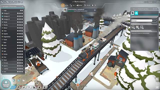 Switch城市建造游戏《殖民者》将于2021年内发售
