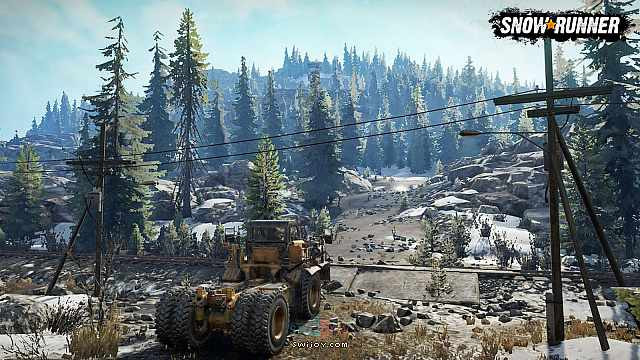 Switch版畅销越野游戏《雪地奔驰》将于5月18日发售