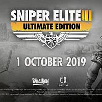 Switch《狙击精英3:终极版》支持本地联机将于10月发售