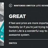 价格和尺寸为Switch Lite赚到了IGN终评8.3分