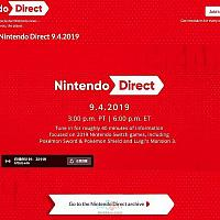 任天堂新直面会将于9月5日召开 2款Switch游戏是重点