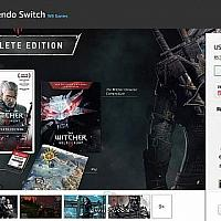 Switch《巫师3》未发售就降价10刀 与偷跑价格一样