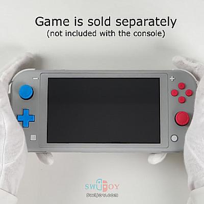 红蓝按键《宝可梦剑盾》限定款Switch Lite开箱视频