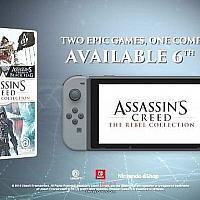 Switch《刺客信条:叛变合集》将于12月6日发售