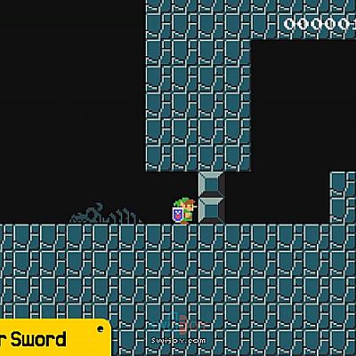 Switch《超级马里奥制造2》第二版更新将加入林克、大师之剑元素