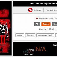 西班牙零售商泄露Switch《荒野大镖客2》信息