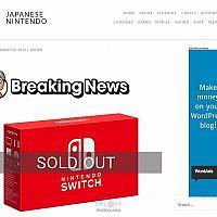 Switch因CovID19疫情在日本断货 任天堂考虑转移生产基地