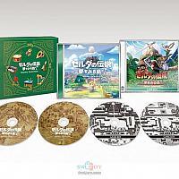 Switch《塞尔达传说:织梦岛》原声专辑CD公开 次月18日发售