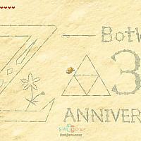 Switch《塞尔达传说:旷野之息》发售三周年 真爱玩家作巨图庆贺