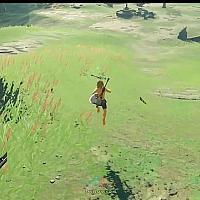 奇葩大神折磨林克:一步不走通关Switch《塞尔达传说:旷野之息》