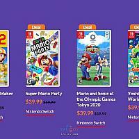 eShop美服多款Switch马里奥游戏特卖以庆祝马里奥日