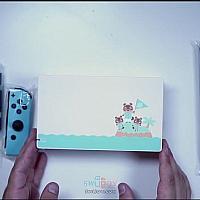 Switch《动物森友会》主题限定机开箱视频