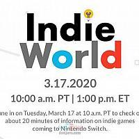 任天堂Switch独立游戏直面会将于18日凌晨召开