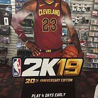零售店广告牌曝光《NBA 2K19》将登陆任天堂Switch