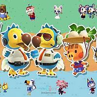 Switch《动物森友会》四命魂4月3日限时加入《任天堂大乱斗》