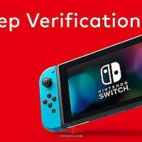 任天堂账户新增两步认证功能以确保Switch游戏不被盗