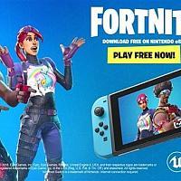 一天下载量破200万!跨平台吃鸡游戏《堡垒之夜》Switch版免费下载