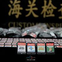 澳门男子身藏600多张Switch游戏卡走私入境被查获