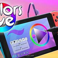 Switch绘画游戏《Colors Live》将于今夏发售