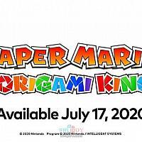 Switch新作《纸片马里奥:折纸之王》 预告公布将于7月17日发售