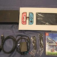 Switch 加《异度神剑2》惊现日本政府用品拍卖 1万日元起拍